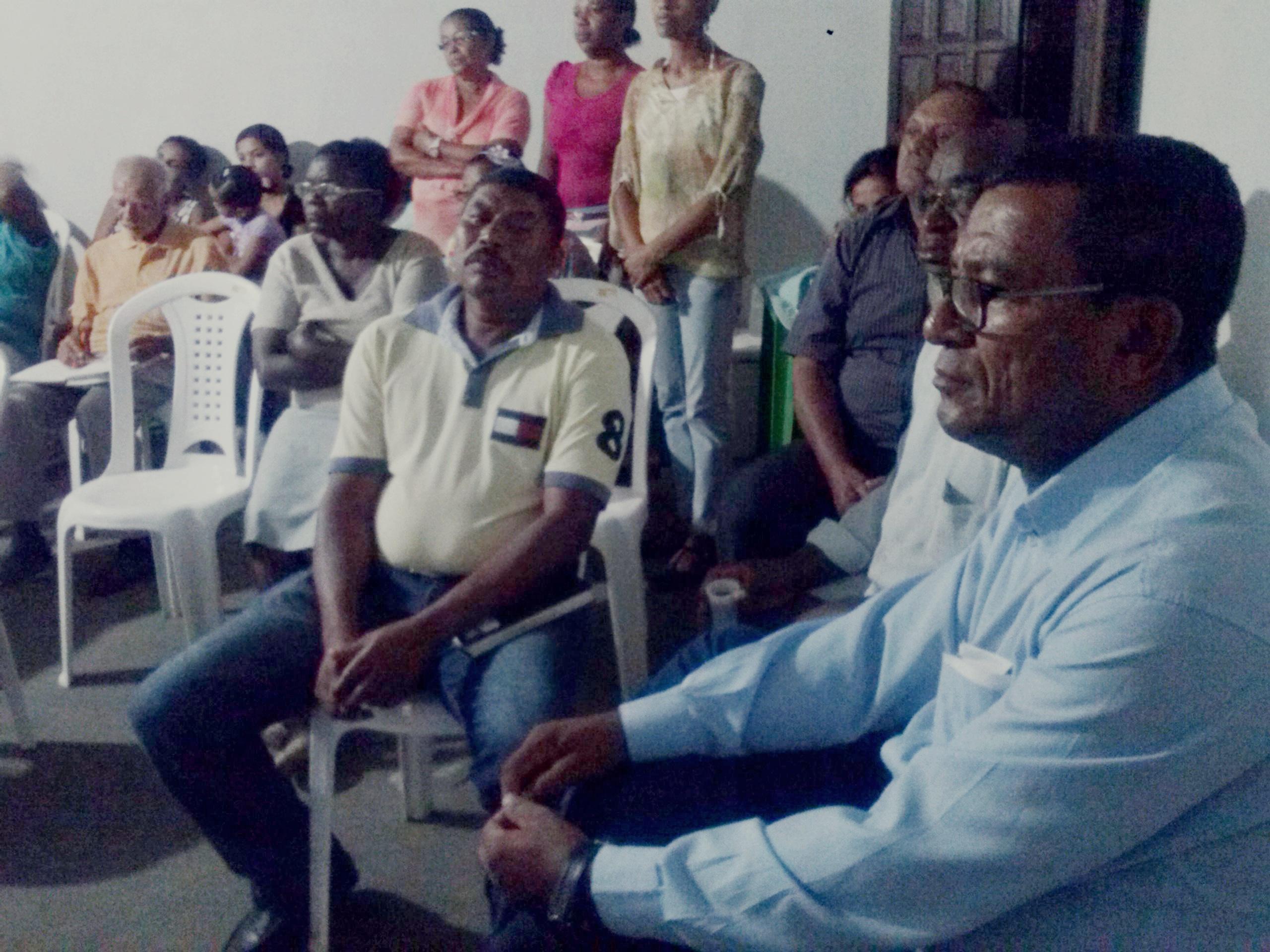 Vereador Djalma Santos participa de reuni£o itinerante da UAMA no