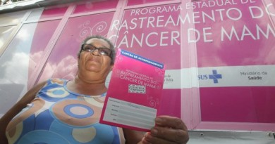 Rastreamento do Câncer de Mama atende em Vera Cruz e Inhambupe