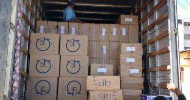 Carga de 25 mil maços de cigarros contrabandeados é apreendida