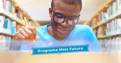Inscrições para o programa Mais Futuro terminam nesta quinta-feira