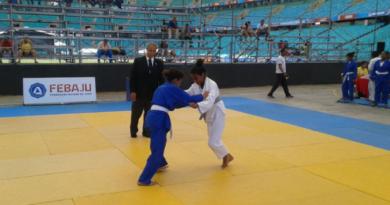 Festival de Judô movimenta a arena de esportes do 5º Encontro Estudantil da Rede Estadual