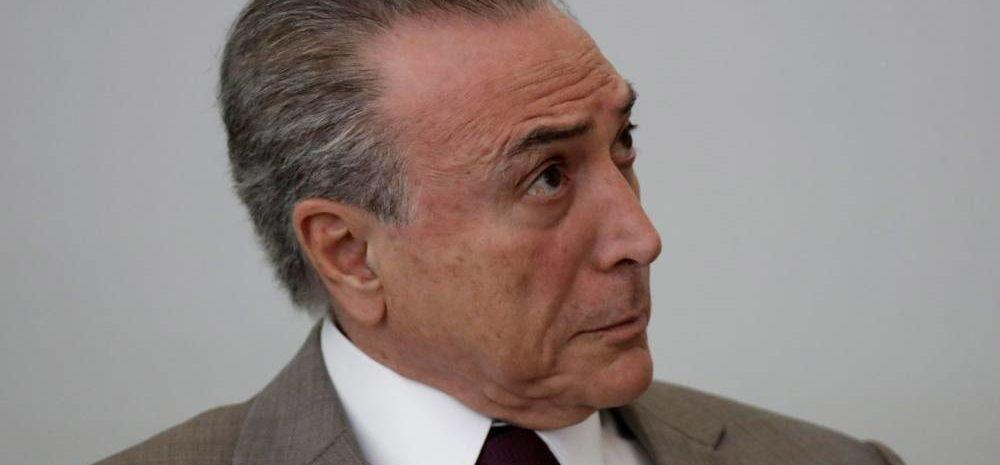 Temer recebe alta médica e volta a Brasília