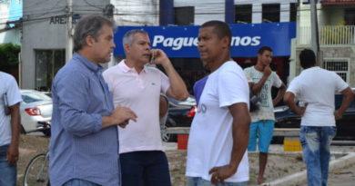Prefeito e secretário de infraestrutura falam sobre projeto de requalificação da Praça Rui Barbosa; veja vídeo
