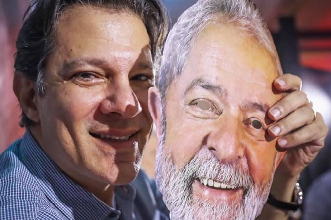 XP/Ipespe: 'Apoiado por Lula', Haddad se aproxima de Bolsonaro