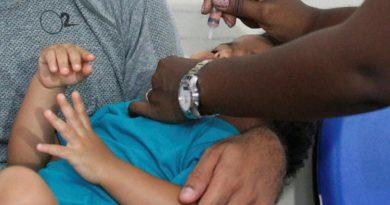 Bahia tem 34% das crianças vacinadas contra a pólio e o sarampo
