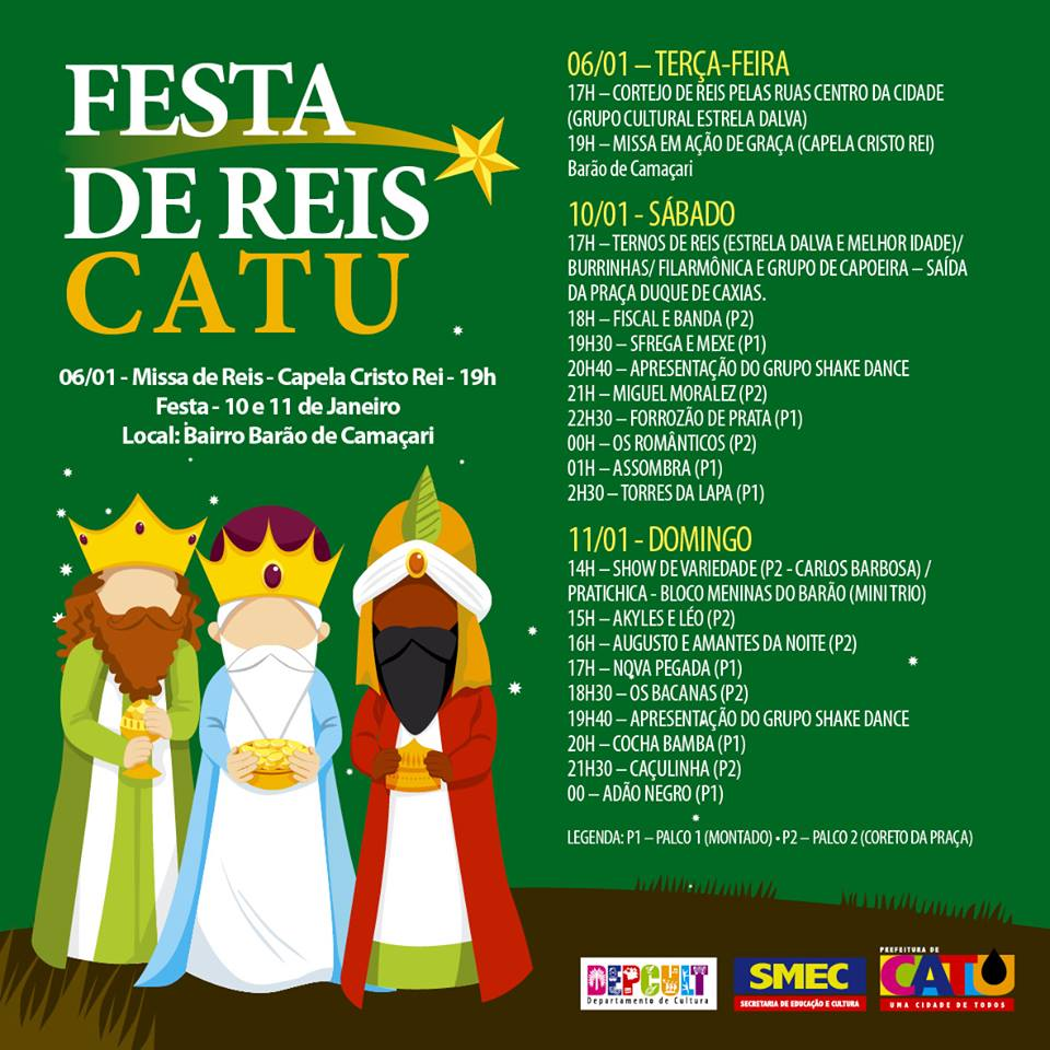 FESTA DE REIS CATU