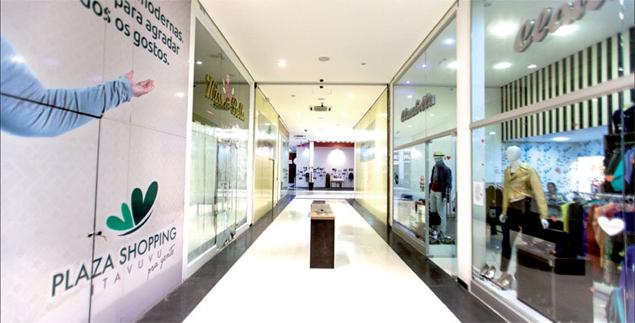 Corredor de shopping em Sorocaba (SP), cidade que possui quatro shoppings e deve ter mais dois inaugurados em breve