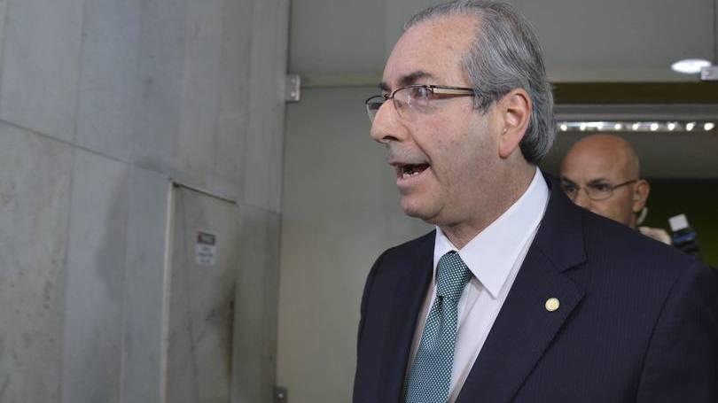 Eduardo Cunha após rompimento com governo