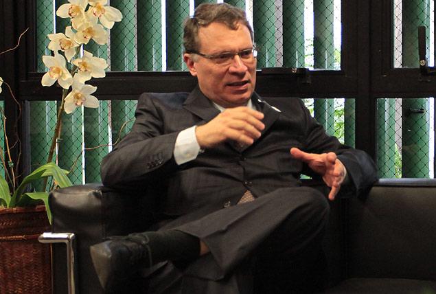 O vice-procurador-geral, Eugênio Aragão, em entrevista