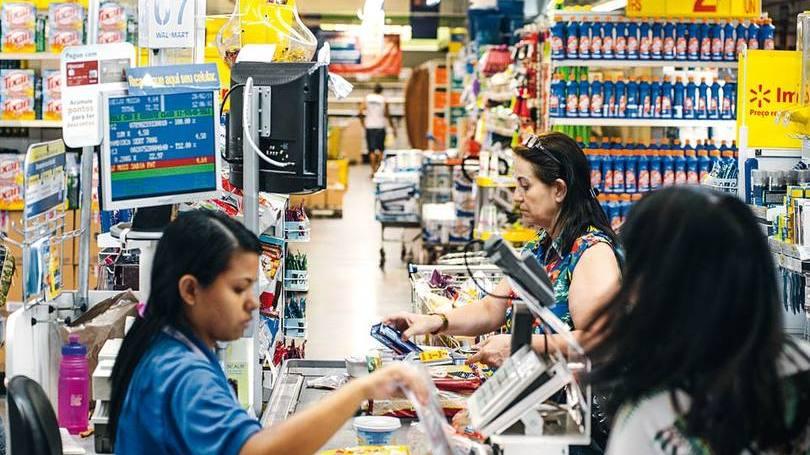 Loja do Walmart em São Paulo