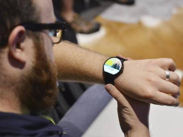 O relógio inteligente da Motorola, o Moto 360