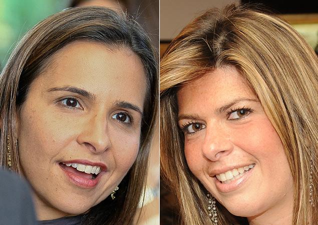 Montagem com as advogadas Leticia Mello (à esq.), filha do ministro Marco Aurélio Mello, e Marianna Fux, filha do ministro Luiz Fux