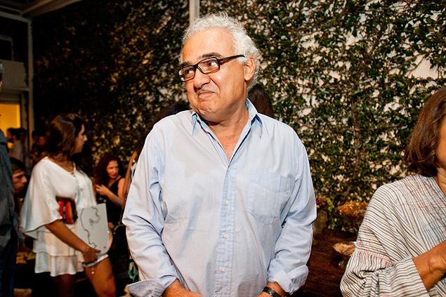 Milton Hatoum em lançamento de livro em São Paulo