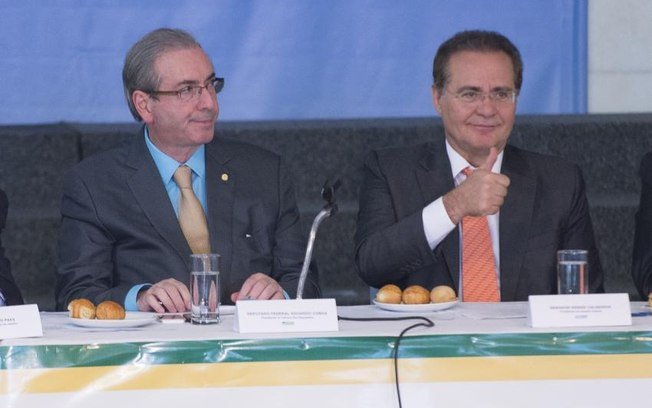 Renan assumiu compromisso com sindicalistas depois de ter obtido o aval do presidente da Câmara, Eduardo Cunha (PMDB-RJ)