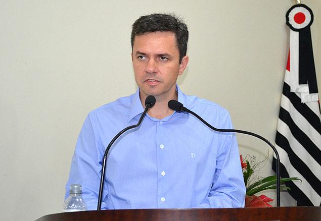 Márcio Faber (PV), que deixou a Prefeitura de Paranapanema, no interior de SP