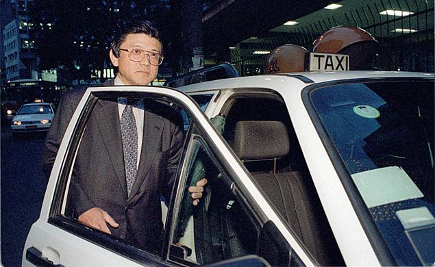 Nelson Sakagushi, em foto de 1998, época em que foi acusado de envolvimento em sumiço de recursos no banco Noroeste