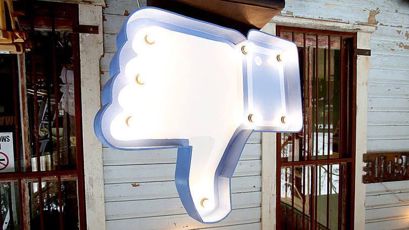 Facebook não curtir