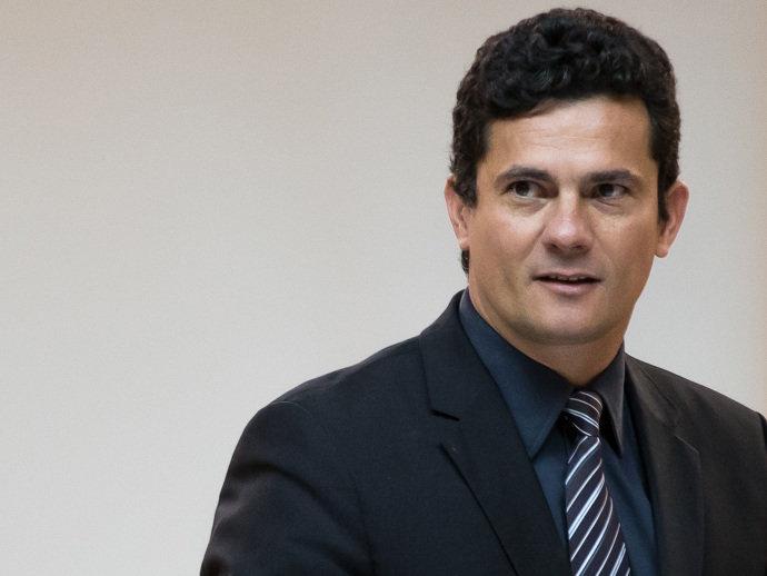 O juiz federal de Curitiba Sergio Moro, responsável pela Operação Lava Jato, participa do Seminário Nacional sobre Combate à Corrupção e à Lavagem de Dinheiro, no Rio de Janeiro