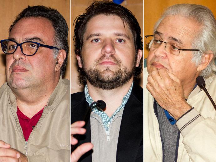 André Vargas, Luiz Argôlo e Pedro Corrêa