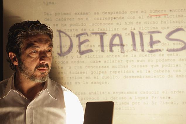 """Ricardo Darín em cena de """"Tese sobre um Homicídio"""", que está em cartaz nos cinemas"""