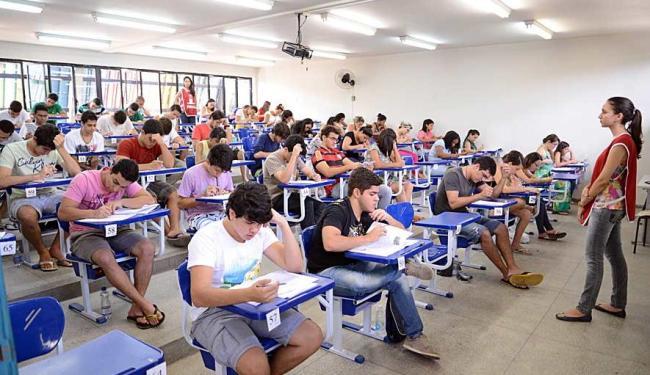 Provas do vestibular vão acontecer de 12 a 14 de julho - Foto: Fernando Bezerra | Divulgação