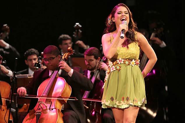 Camila Masiso, uma das cinco vozes que cantam Gonzagão