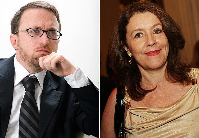 Thomas Traumann, assumirá Secretaria da Comunicação no lugar de Helena Chagas (à dir.)