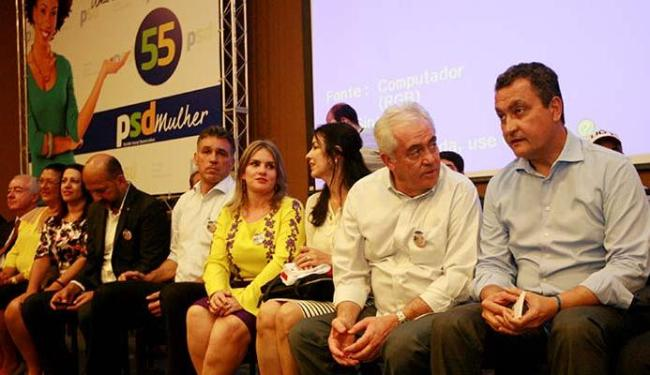 Rui Costa falou no encontro estadual do PSD, que aconteceu em Salvador - Foto: Luciano da Matta   Ag. A TARDE