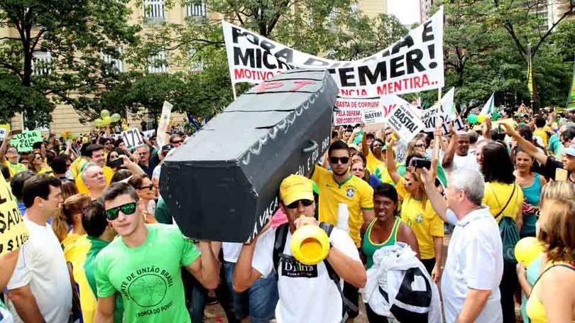 Protesto em Belo Horizonte (MG)