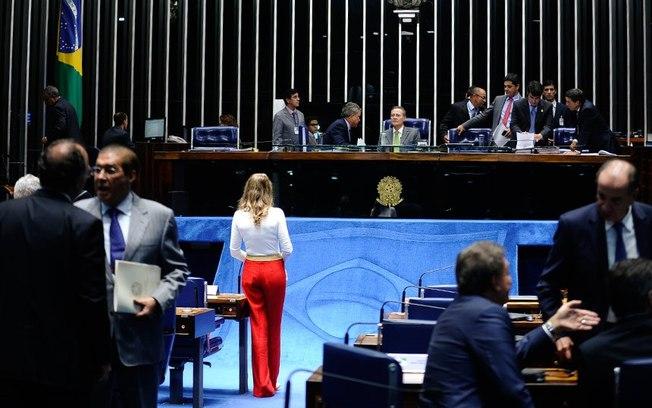 Senado em votação desta quarta-feira: Renan definiu decisão como