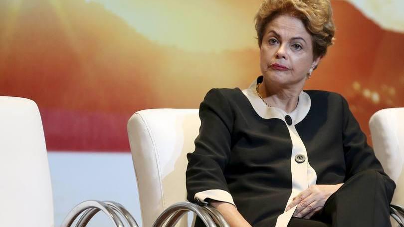 Dilma Rousseff durante eventos pré-Olimpíadas no Rio de Janeiro em 07/10