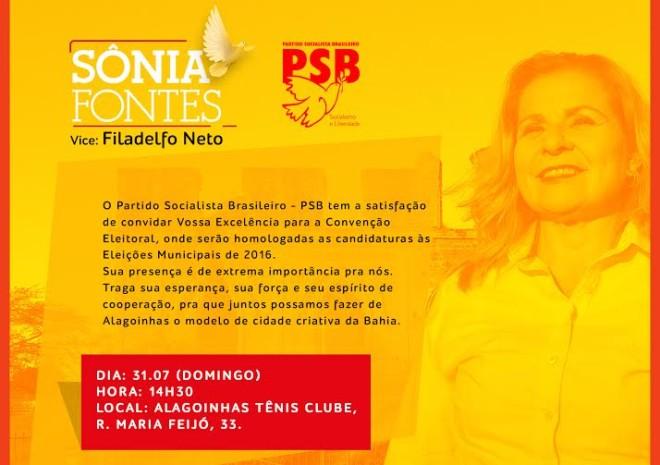 CONVITE CONVENÇÃO SF ALAGOINHAS 1