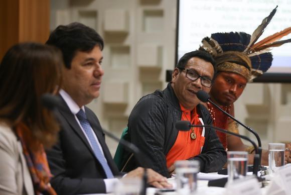 ministro mec índio