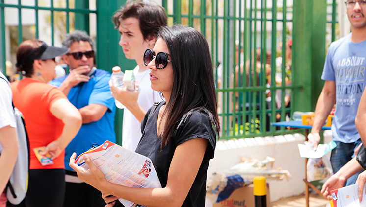 Estudantes interessados em participar do Sistema de Seleção Unificada (Sisu) já podem consultar a lista dos cursos oferecidos, das instituições participantes e dos municípios que oferecem as vagas (foto: Isabelle Araújo/MEC)