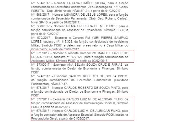 10022017 diario oficial legislativo nomeacoes aliados otto alencar