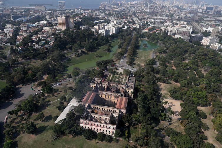 Metade da recuperação emergencial do Museu Nacional já foi realizada