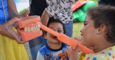 Prefeitura promove ação de saúde bucal para alunos da rede municipal