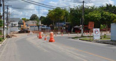 Macrodrenagem da Cavada avança mais uma etapa e altera tráfego na Avenida Dantas Bião
