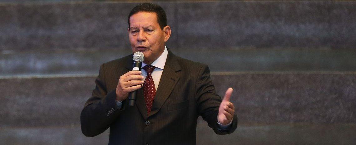 Disputa no PSL não prejudicará votação da Previdência, diz Mourão