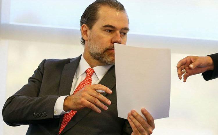 Toffoli recua e anula decisão que dava acesso a dados de 600 mil pessoas