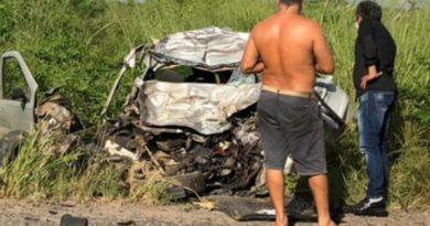 Homem morre em acidente na BR-116 Norte em Feira de Santana