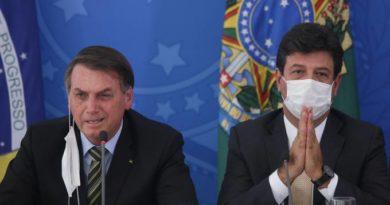 'Você vai matar o pessoal de fome', disse Bolsonaro para Mandetta