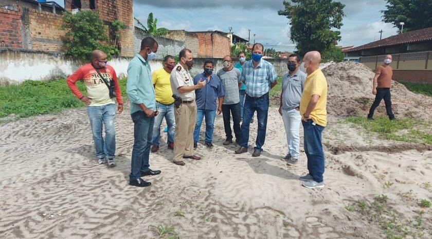 Joseildo visita Colégio da Polícia Militar que receberá mais de R$ 2 milhões em investimentos